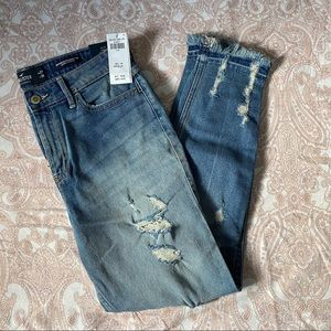 Hollister High Rise Skinny Crop Jean